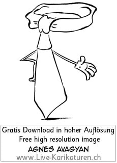 Krawatte Office Business Chef Vorgesetzter Boss Manager office worker business presentation Hand zeigen Hinweisen vorstellen Vorstellung stolz Projekt abgeschlossen schwarzweiss black and white Cartoon Comic Karikatur Clipart Zeichnung Bild Illustration image painting kostenlos Gratisbild free image Thumbnail