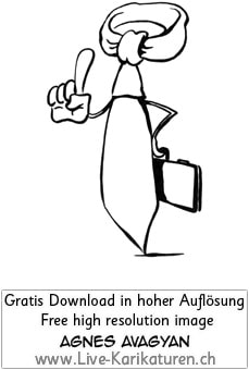 Krawatte Office Business Chef Vorgesetzter Boss Manager office worker business presentation Agnes Live-Karikaturen, Download, kostenlos, Gratisbild, Free image, Clipart, Comic, Cartoon, Illustration Thumbnail